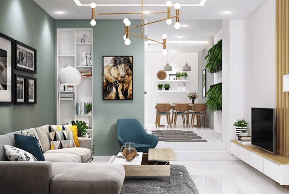 Thiết kế nội thất cho ngôi nhà hiện đại