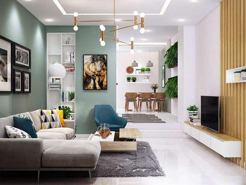 Không gian hướng ngoại cũng là điểm cộng trong thiết kế nội thất căn biệt thự này